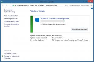 Windows 10 via Autoupdate